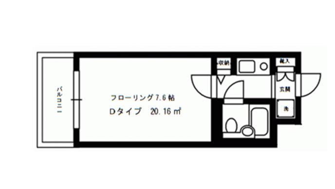デトムワン西陣Ⅱ208