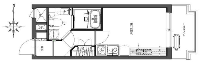デトムワン四条大宮Ⅱ216